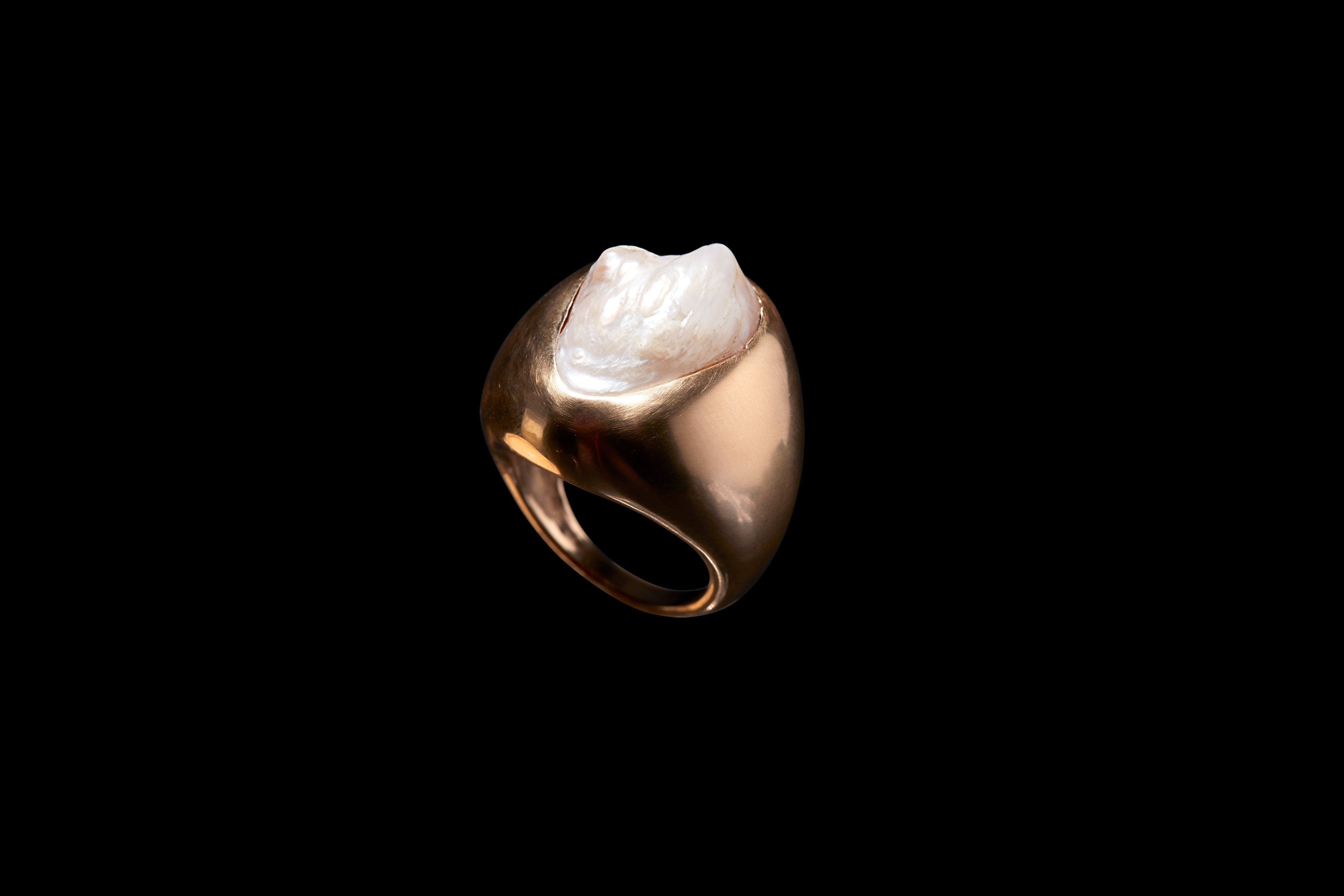 American Natural Pearl Ring