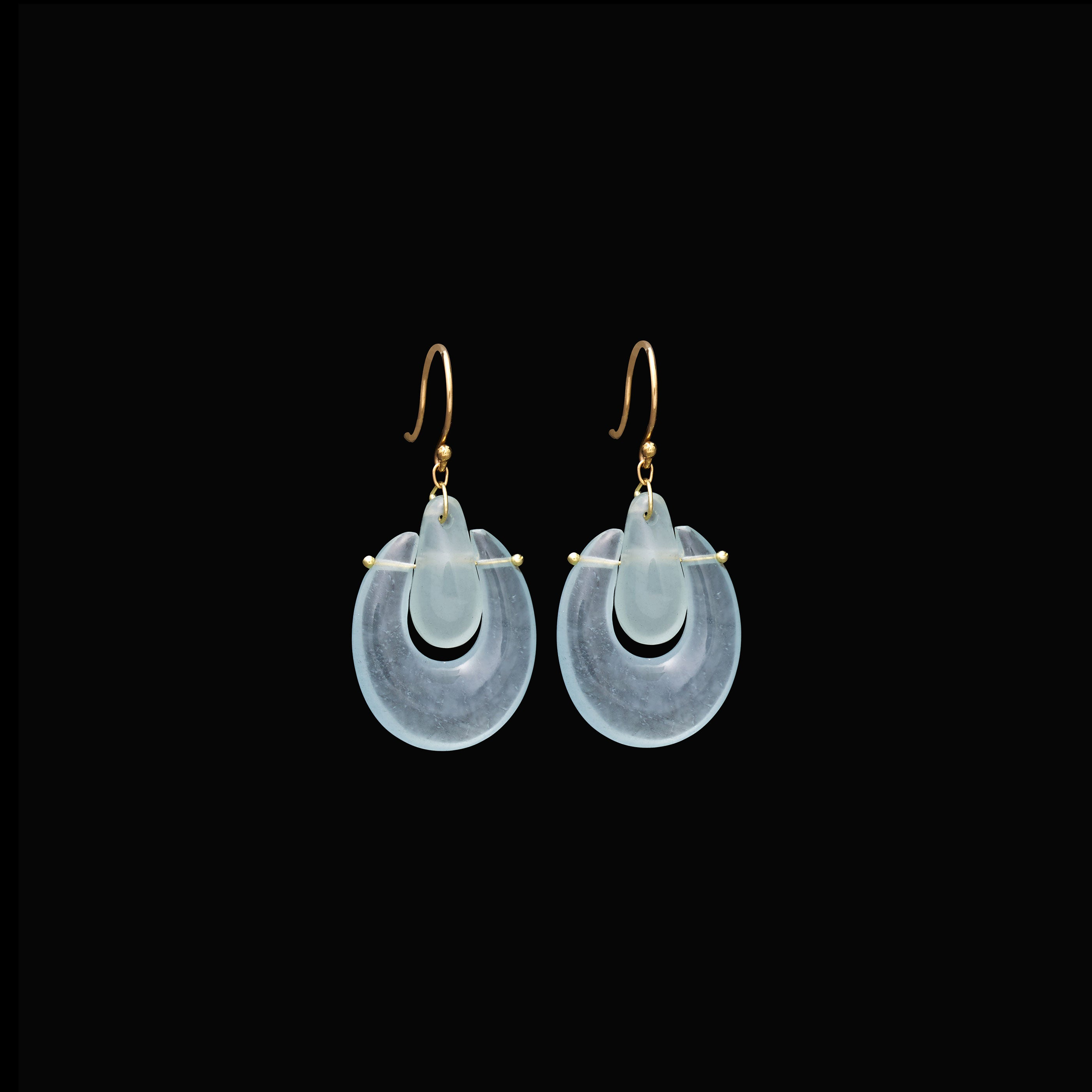 Small O'Keeffe Stone Earring