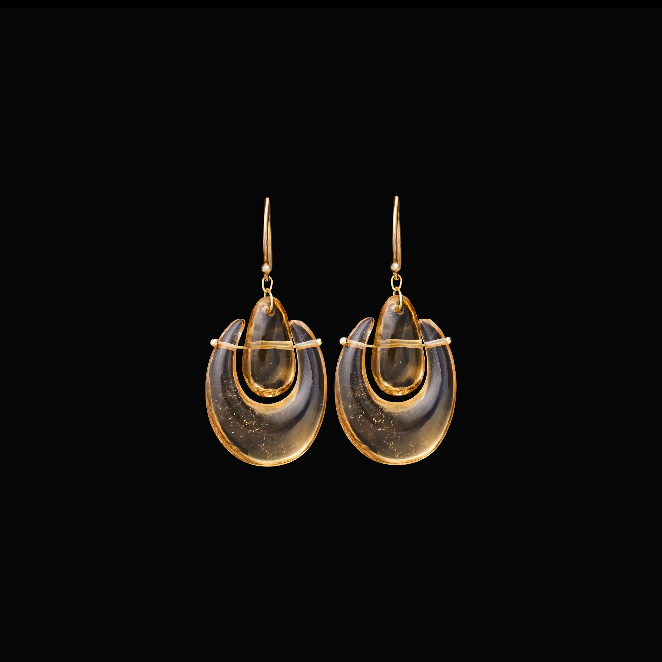 Small O'Keefe Stone Earring
