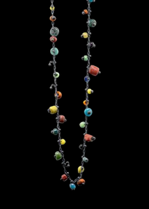 Studded Ancient Bead Necklace