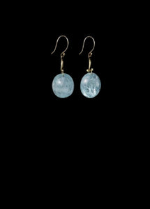 Aquamarine Berry Earring