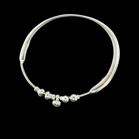multi bead bangle