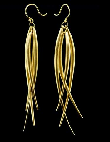 Extra Long Tusk Earring