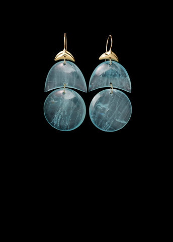 Small Arp Aquamarine Earring