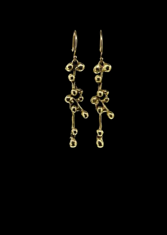 Molten Cluster Medium Earring