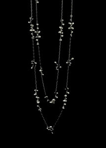 Molten Clusters Long Necklace