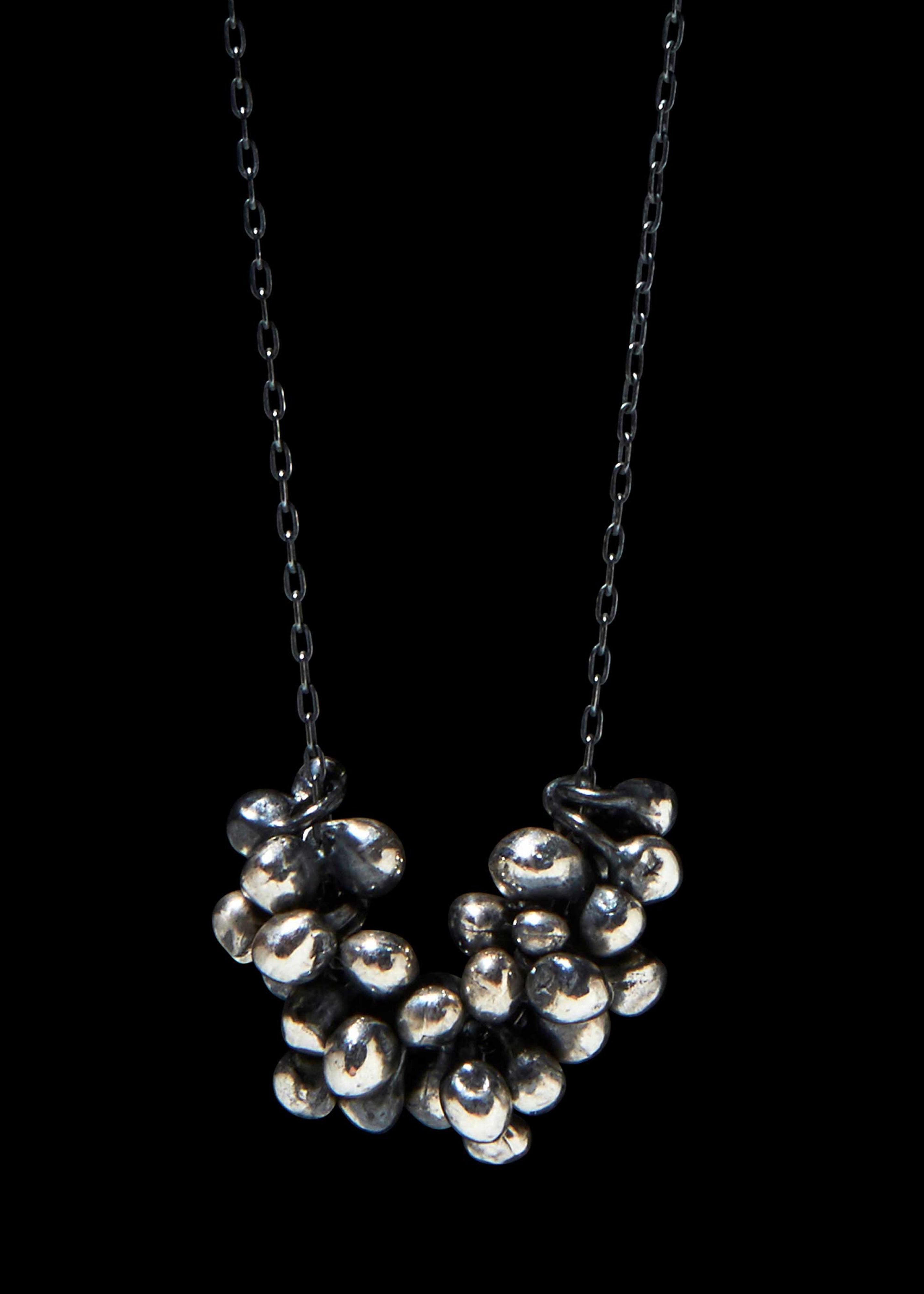 Xl Molten Cluster Necklace
