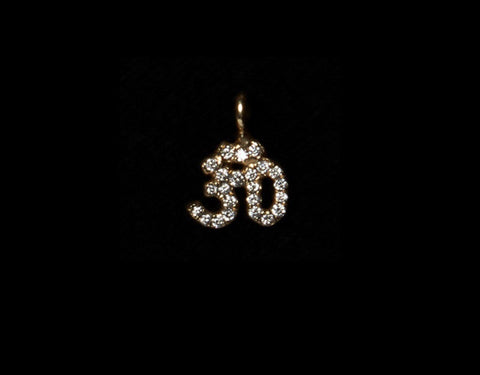 Small Diamond Pave Ohm