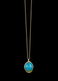 Persian Turquoise Pendant Necklace