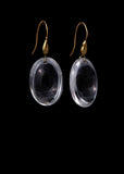 Fat Oval Earring