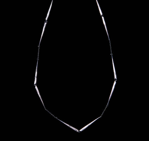 Skinny Tapered Link Choker