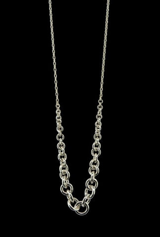 Tapered Link Necklace