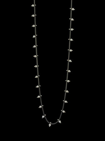 Single Studded Woven Chain Necklace