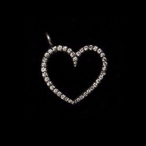 Diamond Pave Heart