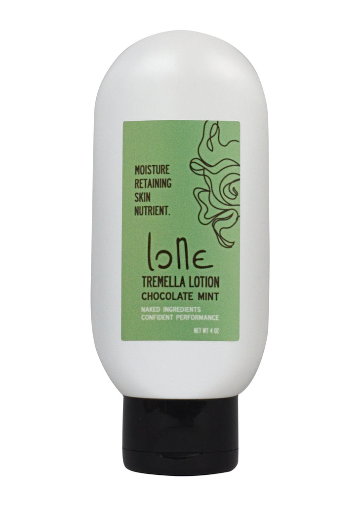 Snow Mushroom ultra moisturizing lotion. All natural ingredients. Chocolate Mint