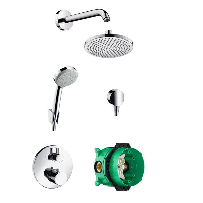Hansgrohe Croma 160 Complete Shower Set - Indesign