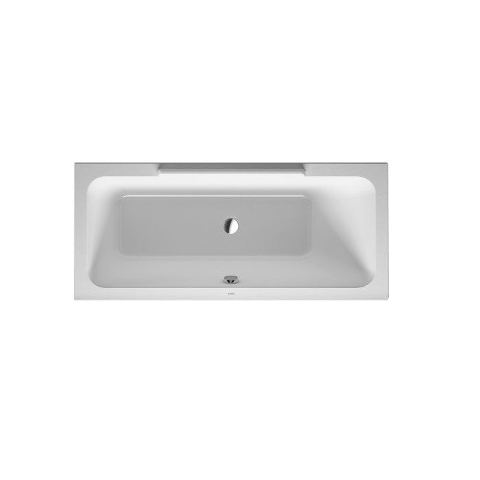 Duravit Durastyle Inset Bath With Support Feet - Indesign