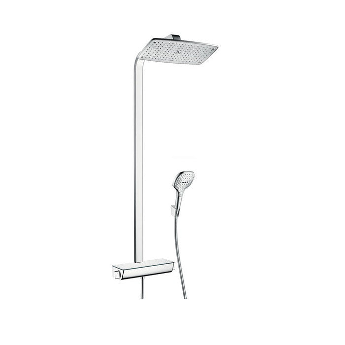 Hansgrohe Raindance Select E 1 Jet 360 Shower Set - Indesign