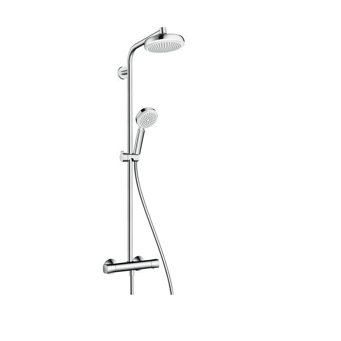 Hansgrohe Crometta 100 1 Jet Shower Set - Indesign