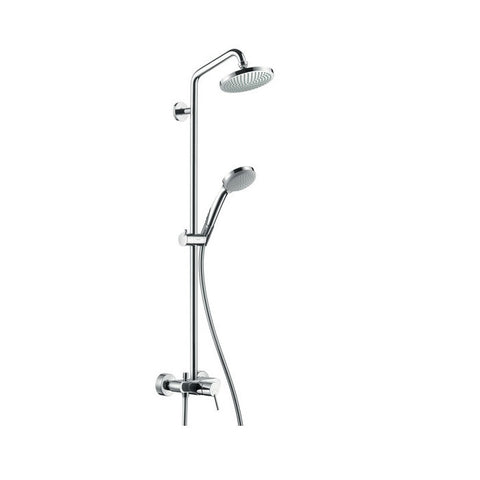 Hansgrohe Croma 100 Shower Set With Single Lever Mixer