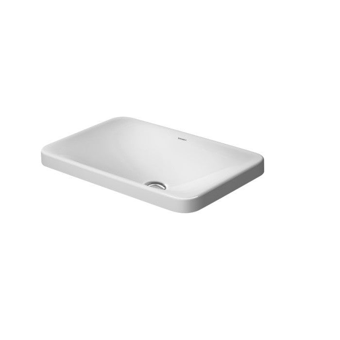 Duravit P3 Comforts Countertop Basin 550 mm