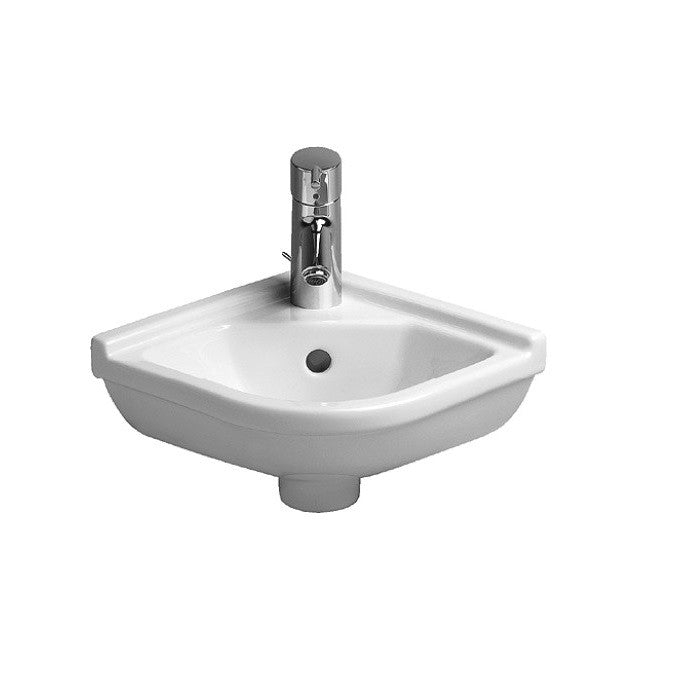 Duravit Starck 3 Corner Basin | Cloakroom Basins – Indesign