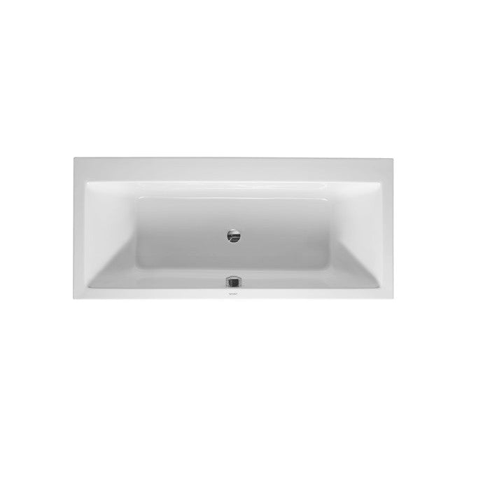 Duravit Vero Inset Bath 1800 x 800 mm With Support Feet - Indesign