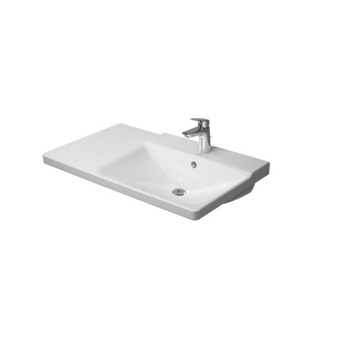 Duravit P3 Comforts Right Handed Asymmetric Furniture Washbasin