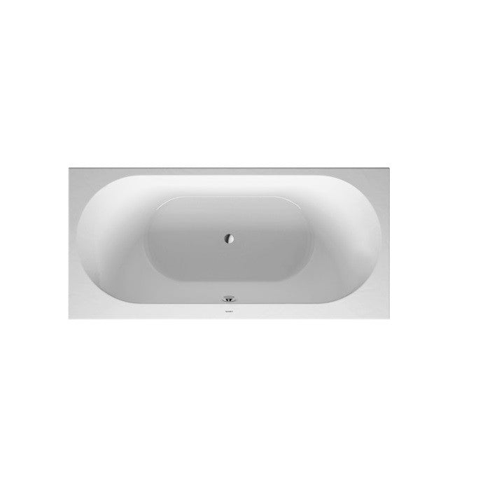 Duravit Darling New Inset Bath With Support Feet 1900 x 900 mm