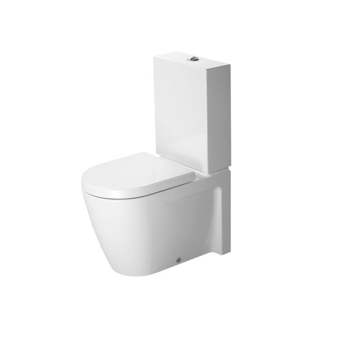 Duravit Starck 2 Close Coupled Pan 630mm