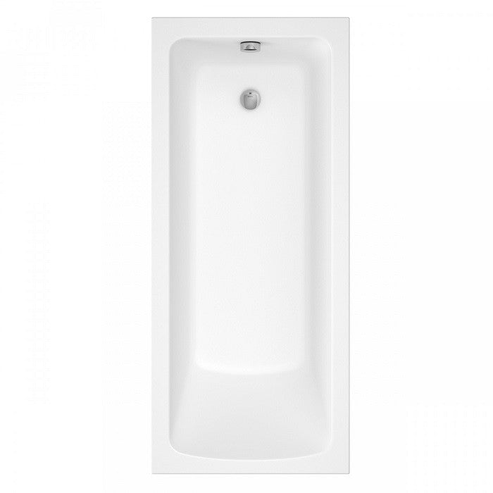 Lorenzo Premium 1700 x 700 mm Single Ended Bath - Indesign