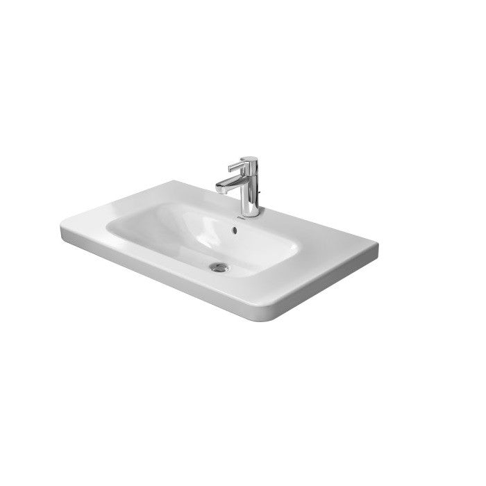 Duravit P3 Comforts Left Handed Asymmetric Furniture Washbasin