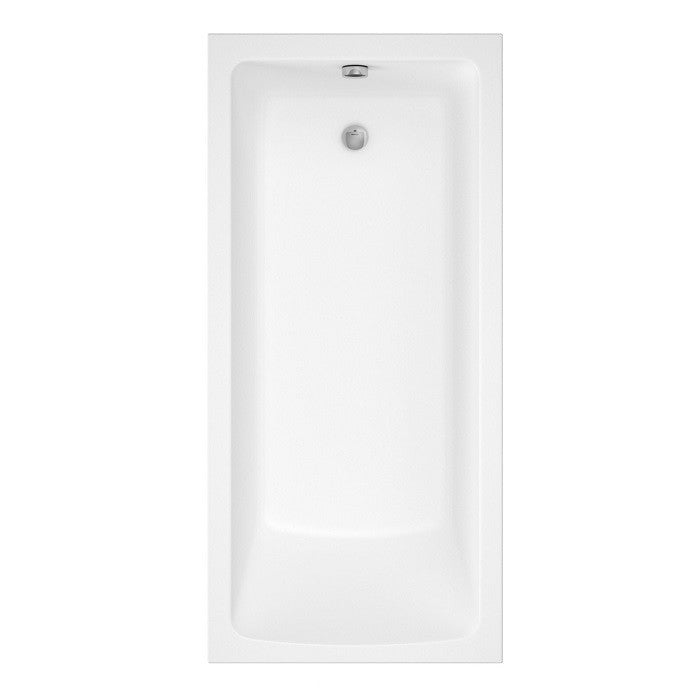 Lorenzo Premium 1700 x 800 mm Single Ended Bath - Indesign