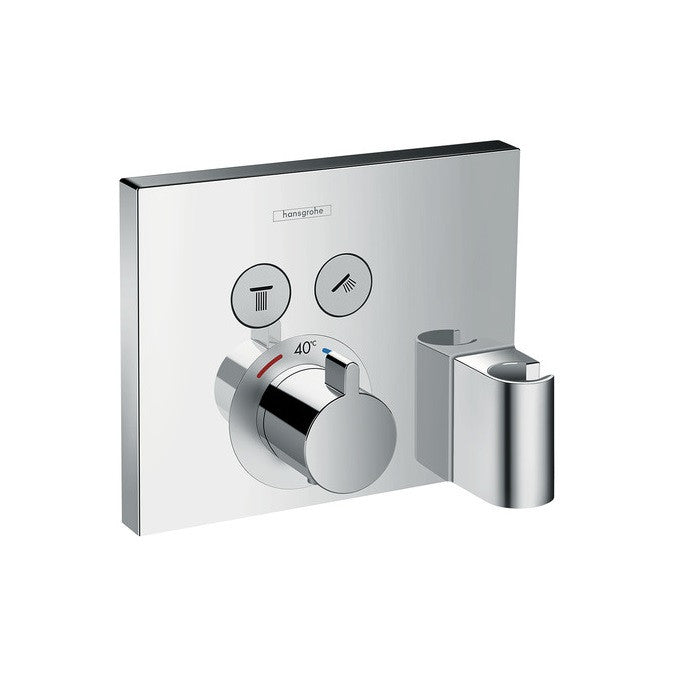 Hansgrohe ShowerSelect Shower Mixer With Support | Shower Controls ...