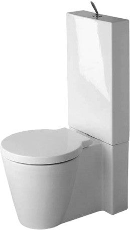 Duravit Starck 1 Close Coupled Pan - Indesign