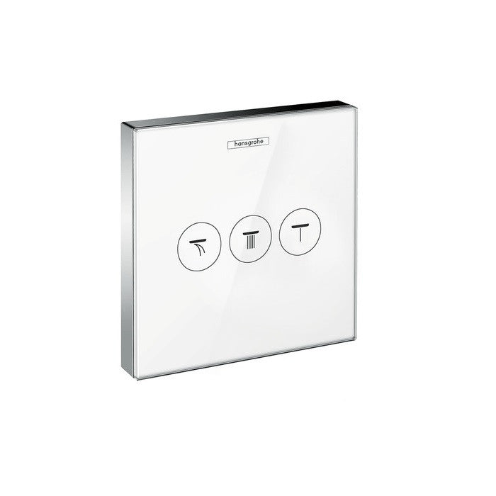 Hansgrohe ShowerSelect 3 Outlet Glass Valve - Indesign