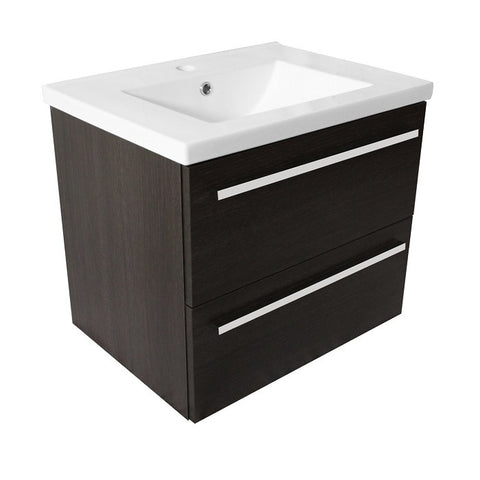 Pace 600 Wall Mounted Two Drawer Unit & Basin