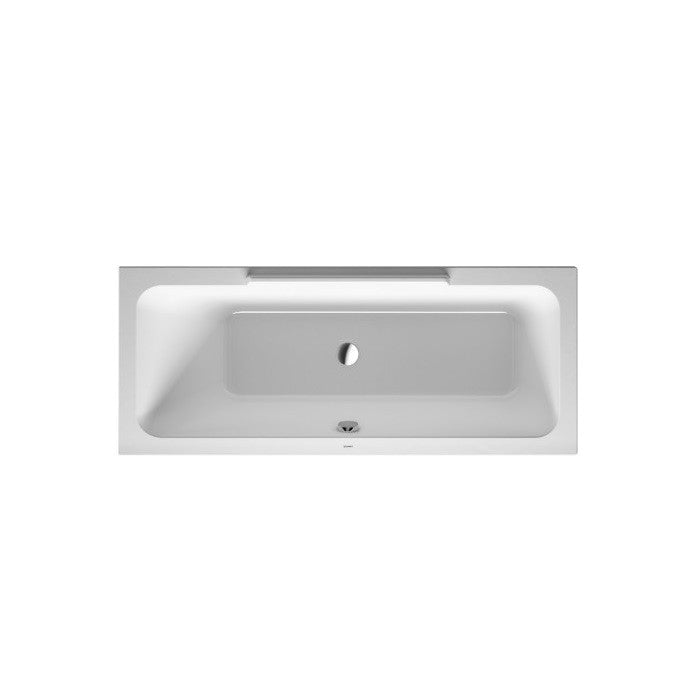 Duravit Durastyle Right Corner Inset Bath With Support Feet - Indesign