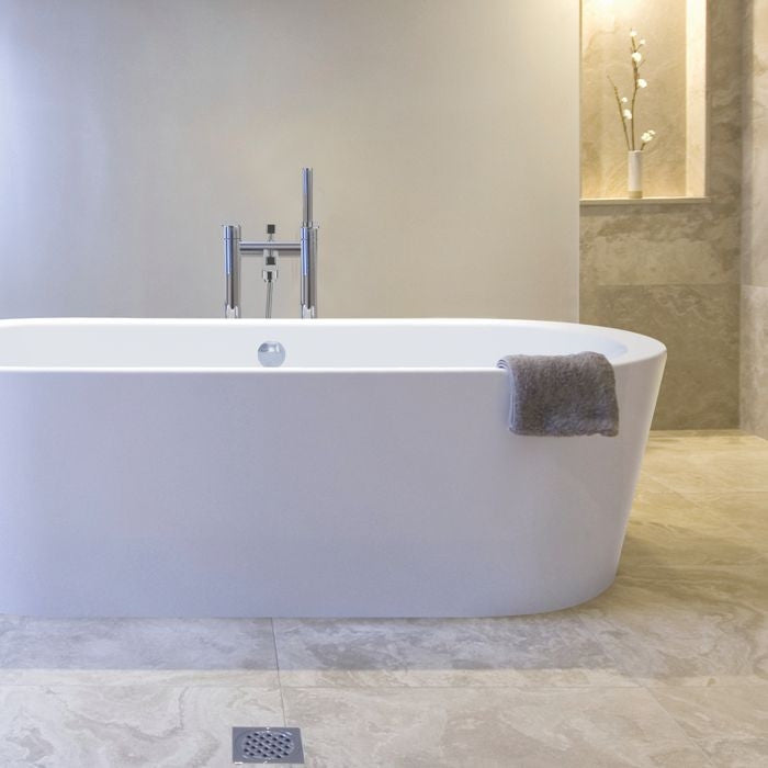 Plazia Freestanding Bath - Indesign