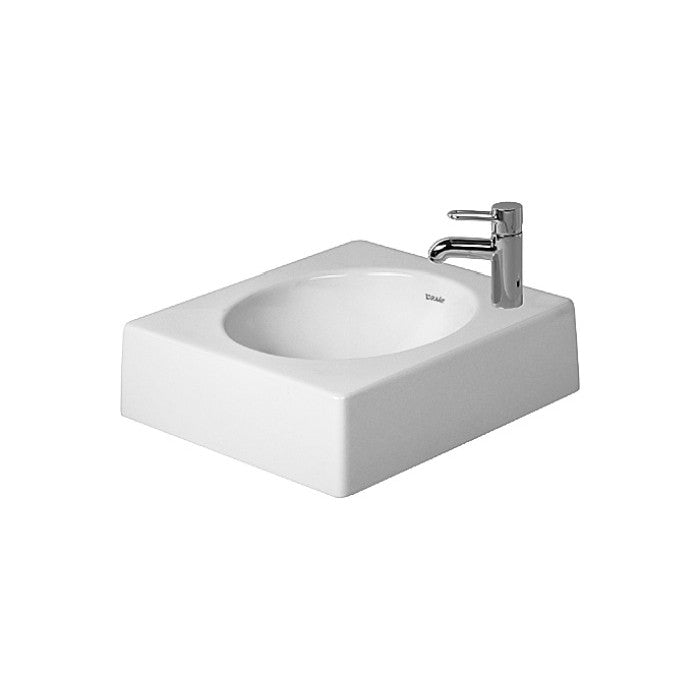 Duravit architec counter top basin 450 mm counter top for Duravit architec washbasin