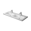 Duravit Durastyle Furniture Double Basin - 1300 mm