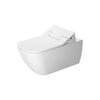 Duravit Happy D.2 Wall Hung SensoWash® Slim Toilet