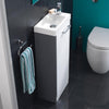 Solo Floor Standing Furniture Unit With Basin - 400 mm