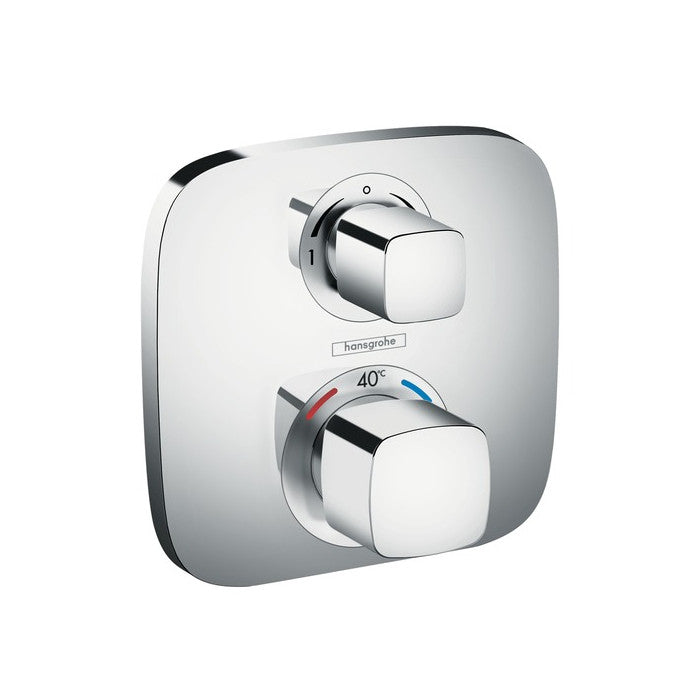 Hansgrohe Ecostat E Concealed Thermostatic Mixer With Shut Off And Diverter - Indesign