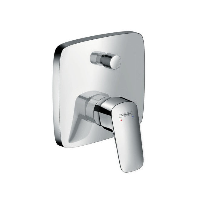Hansgrohe Logis Concealed Single Lever Bath Shower Mixer - Indesign
