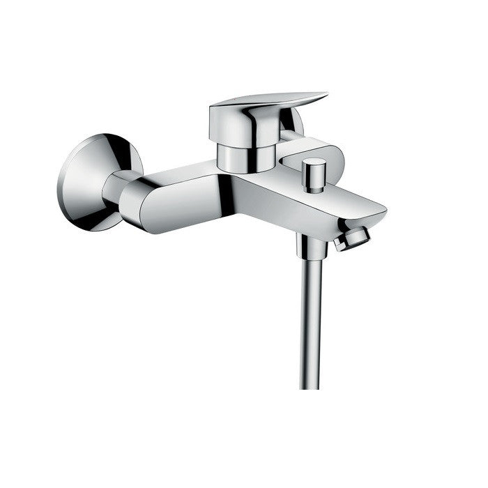 Hansgrohe Logis Exposed Single Lever Bath Mixer - Indesign