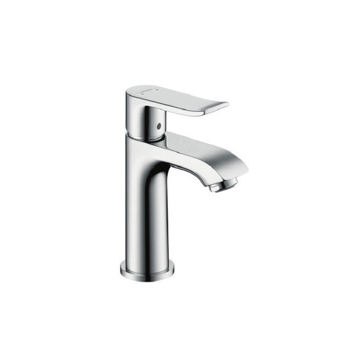 Hansgrohe Metris 100 Single Lever Basin Mixer With Waste - Indesign