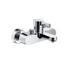 Hansgrohe Metris S Exposed Single Lever Bath Shower Mixer - Indesign