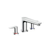 Hansgrohe Talis E 3 Piece Bath Mixer - Indesign