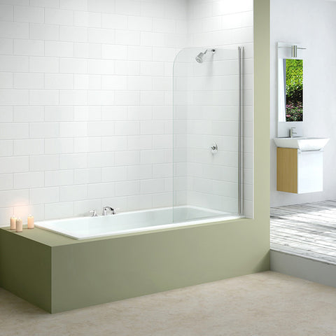 Merlyn MB1 Curved Bath Screen